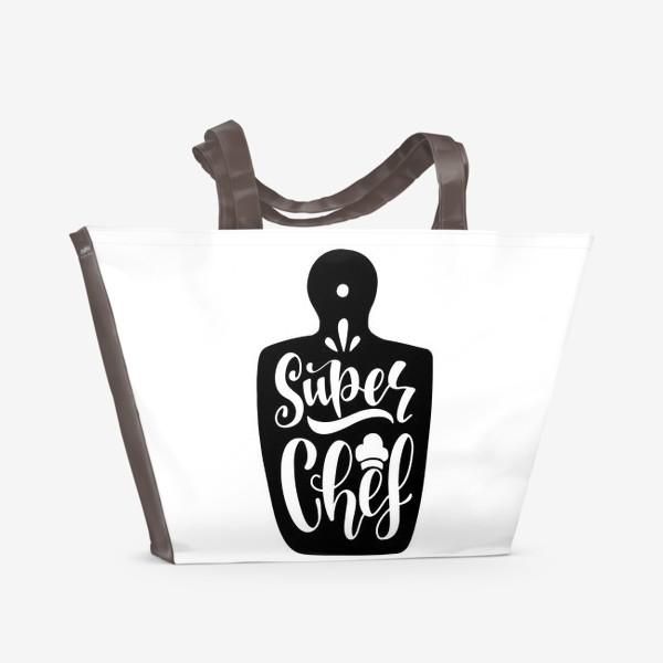 Пляжная сумка «Super Chef»