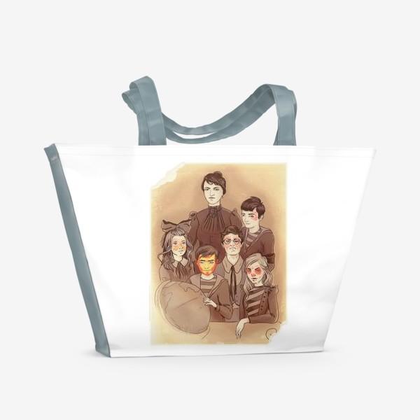 Пляжная сумка «снова в школу»