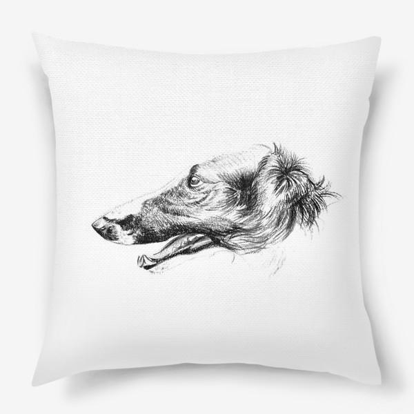 Подушка «Портрет собаки»