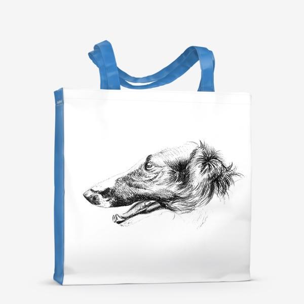 Сумка-шоппер «Портрет собаки»