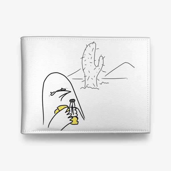 Кошелек «Птица любитель текилы »