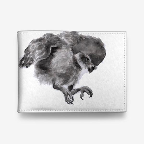 Кошелек «Сова прыгает летит»