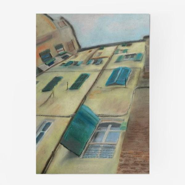 Постер «Италия. Небо Сиены»