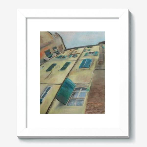 Картина «Италия. Небо Сиены»