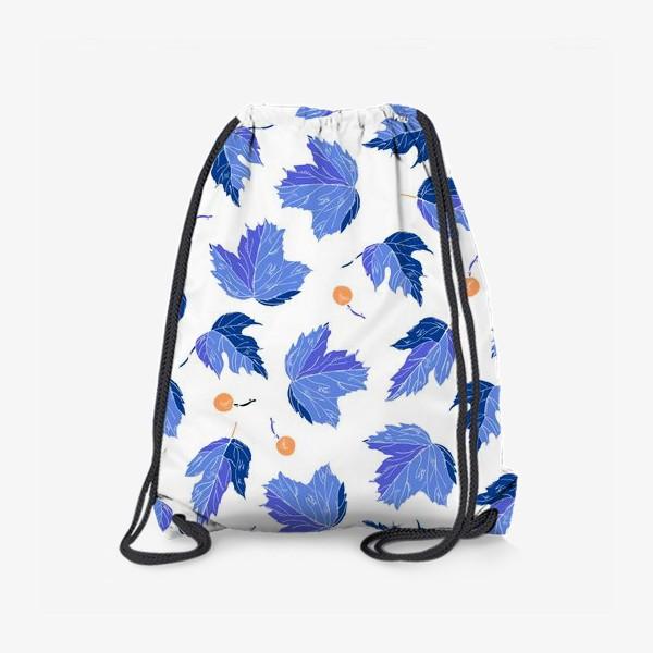 Рюкзак «ягоды и листья»