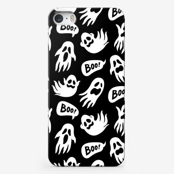 Чехол iPhone «Привидения на хэллоуин»