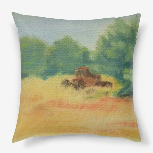 Подушка «Греческая деревня»