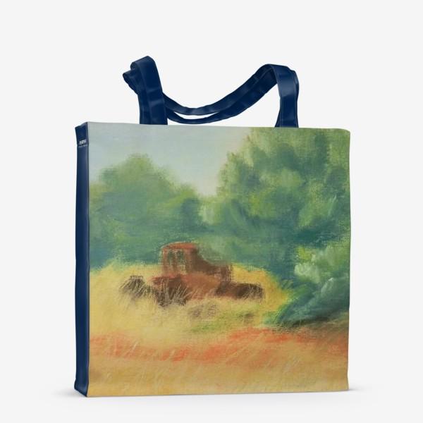 Сумка-шоппер «Греческая деревня»