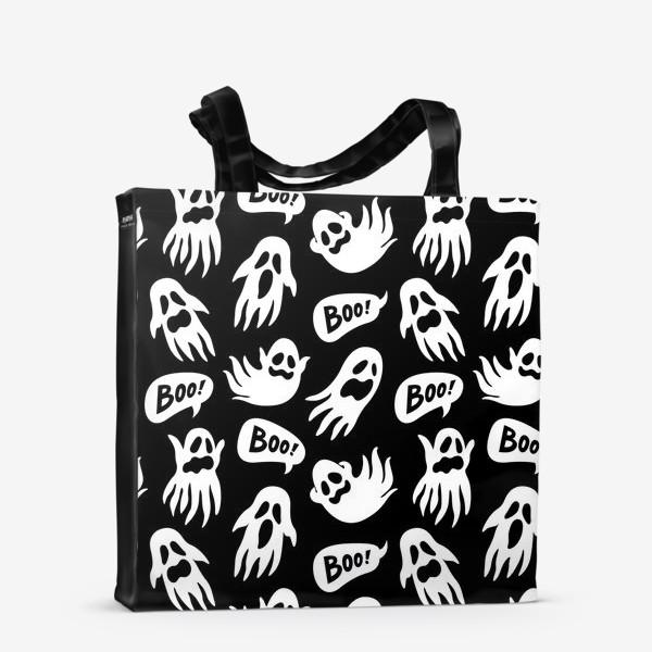 Сумка-шоппер «Привидения на хэллоуин»