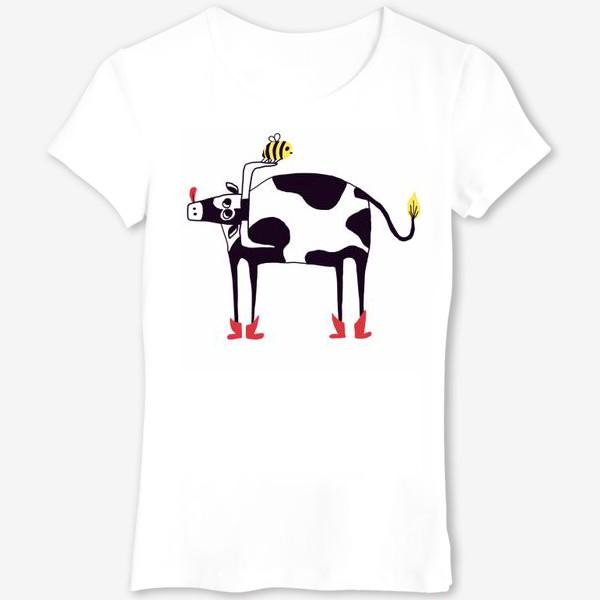 Футболка «Бык и пчела»