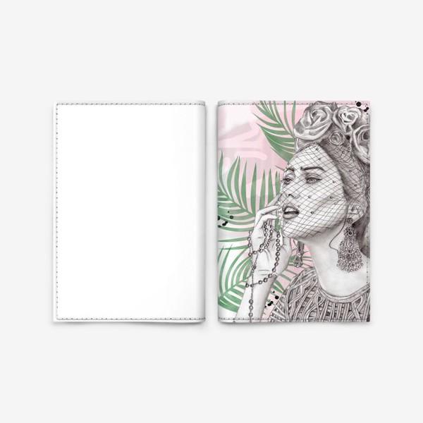 Обложка для паспорта «Art Girl»
