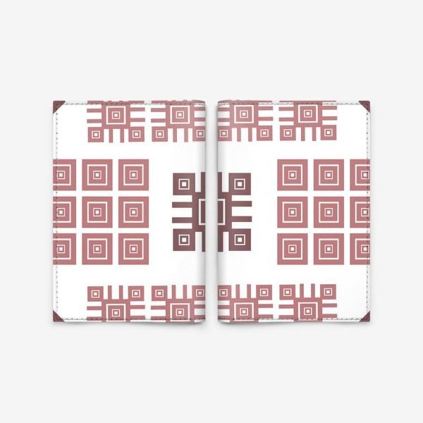 Обложка для паспорта «Ethnic folk ornament»