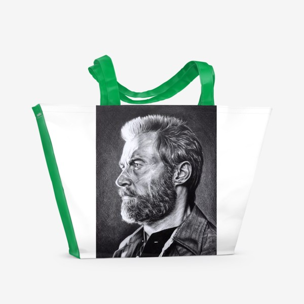 Пляжная сумка «Логан - росомаха»