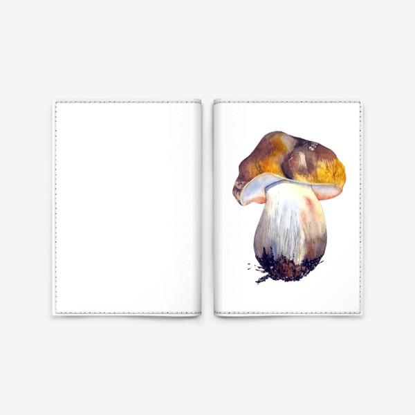 Обложка для паспорта «белый гриб»