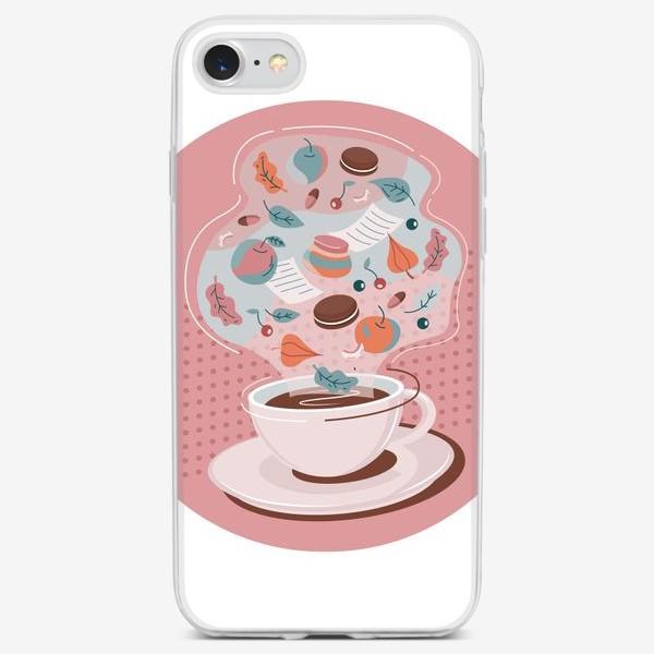 Чехол iPhone «Чай с осенью»