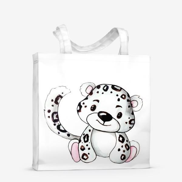 Сумка-шоппер «Малыш Леопард»