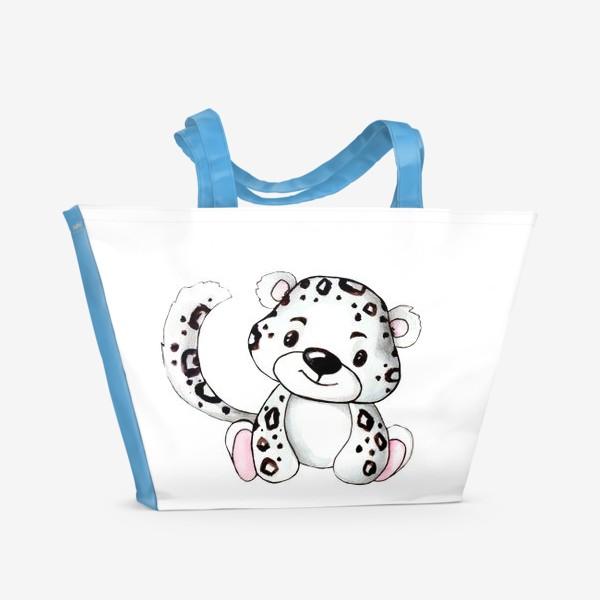 Пляжная сумка «Малыш Леопард»