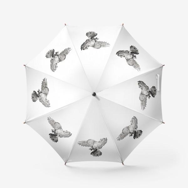 Зонт «Орел расправил крылья и летит в прыжке»