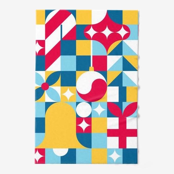 Полотенце «Рождественский паттерн. Узор на Новый год»