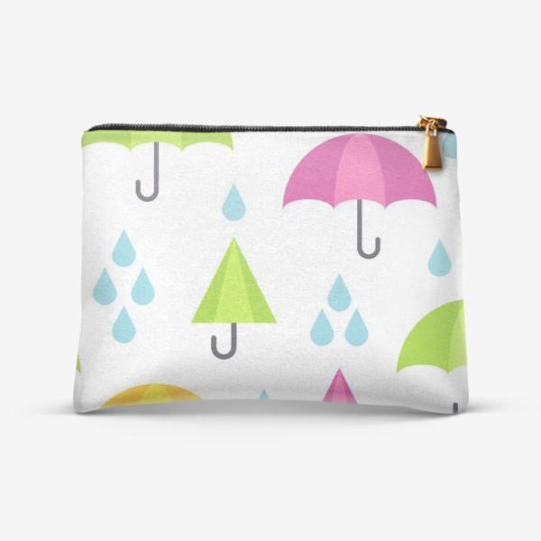 Косметичка «Веселые зонтики»