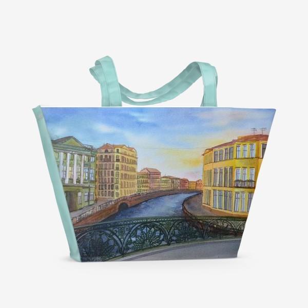 Пляжная сумка «Санкт-петербург»