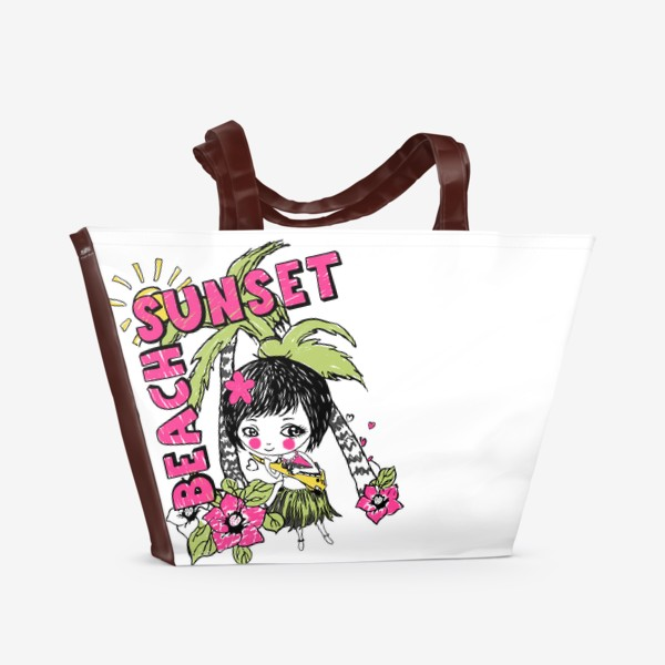 Пляжная сумка «алоха!»