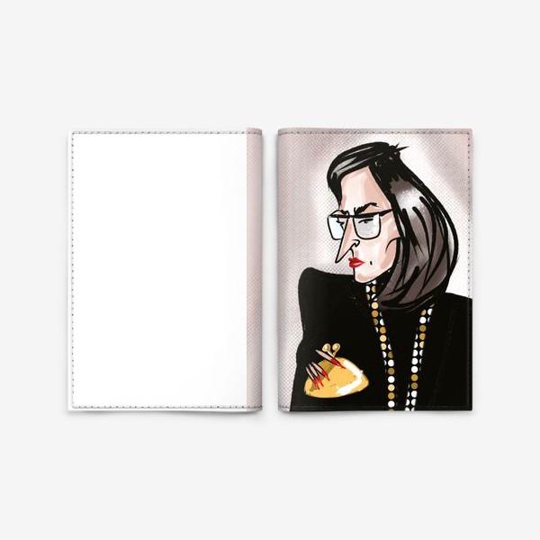 Обложка для паспорта «Загадочная »