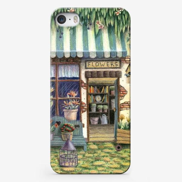 Чехол iPhone «Цветочный магазин»