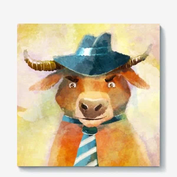 Холст «Год быка »