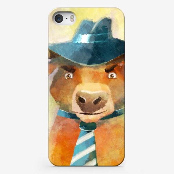 Чехол iPhone «Год быка »