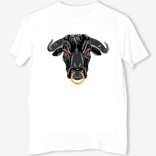 Футболка «Черный бык»