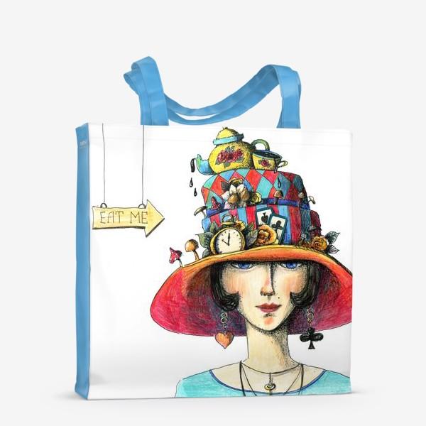 Сумка-шоппер «Алиса в стране чудес»