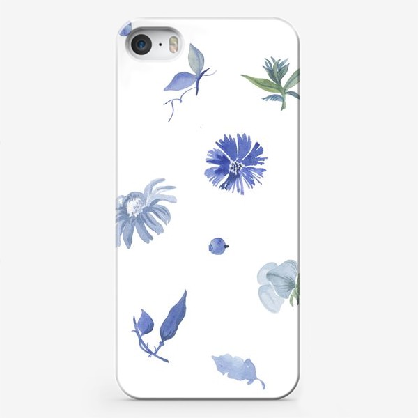 Чехол iPhone «Клумба»
