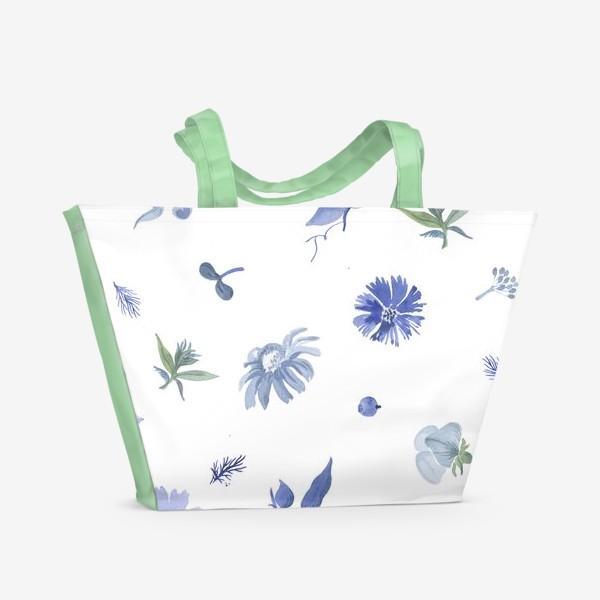 Пляжная сумка «Клумба»