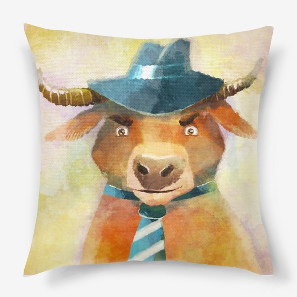 Подушка «Год быка »