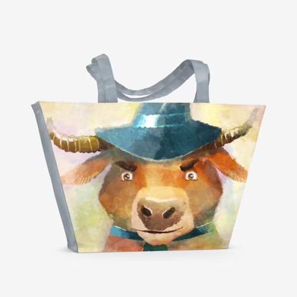 Пляжная сумка «Год быка »
