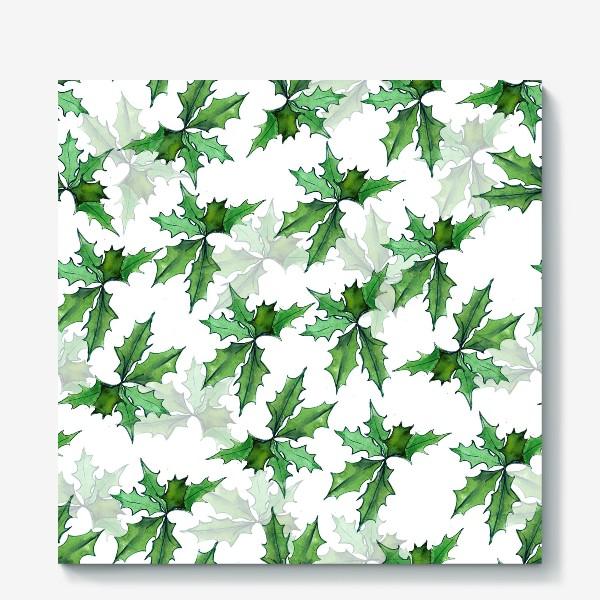 Холст «поддуб зелень»