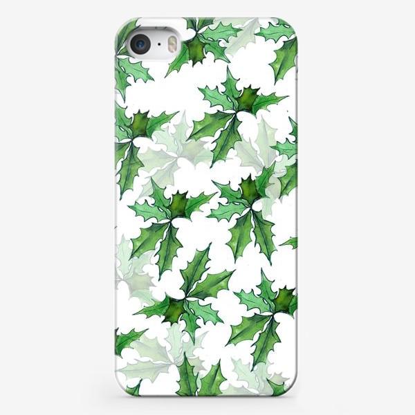 Чехол iPhone «поддуб зелень»