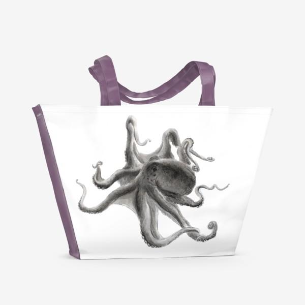 Пляжная сумка «морской осьминог сережа»