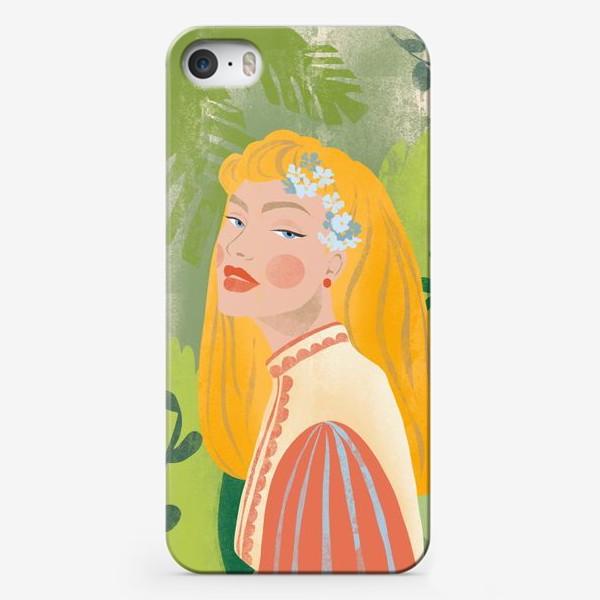 Чехол iPhone «красавица»