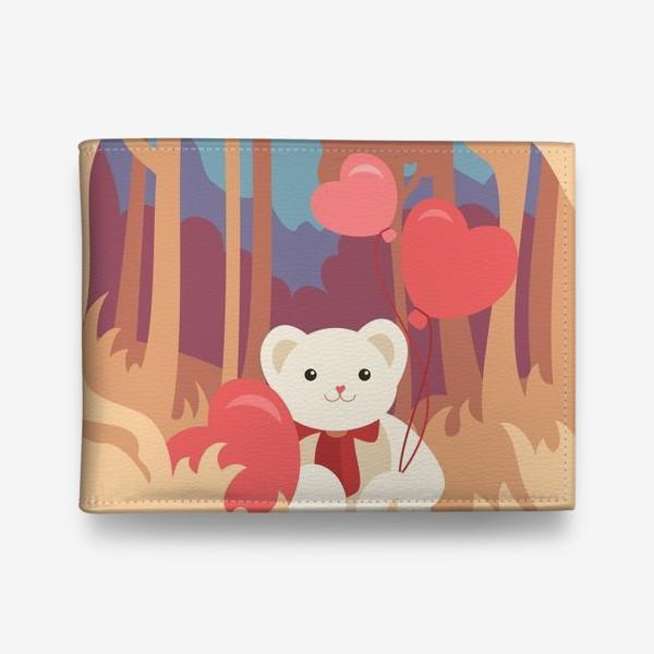 Кошелек «Медвежонок в лесу»