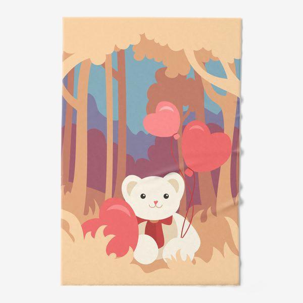 Полотенце «Медвежонок в лесу»