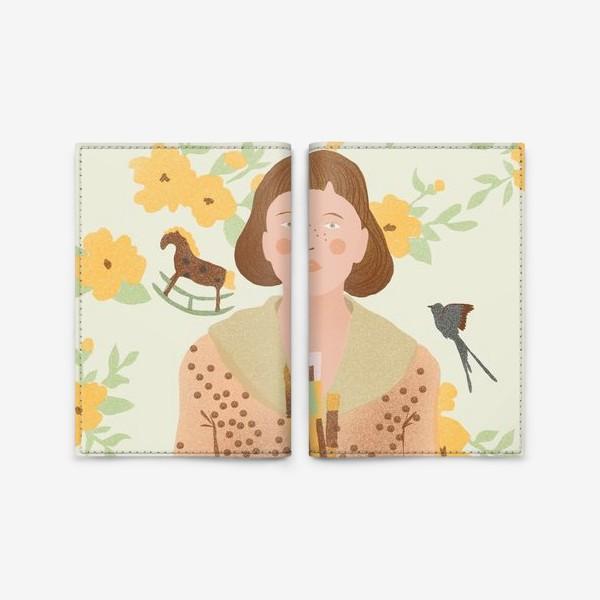 Обложка для паспорта «художница»