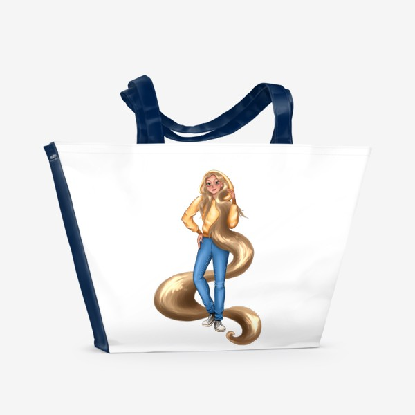 Пляжная сумка «Спортивные принцессы »