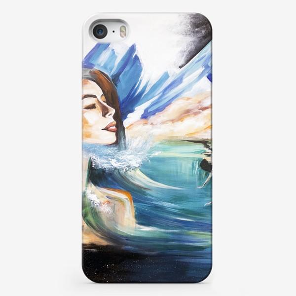 Чехол iPhone «Мечтательница»