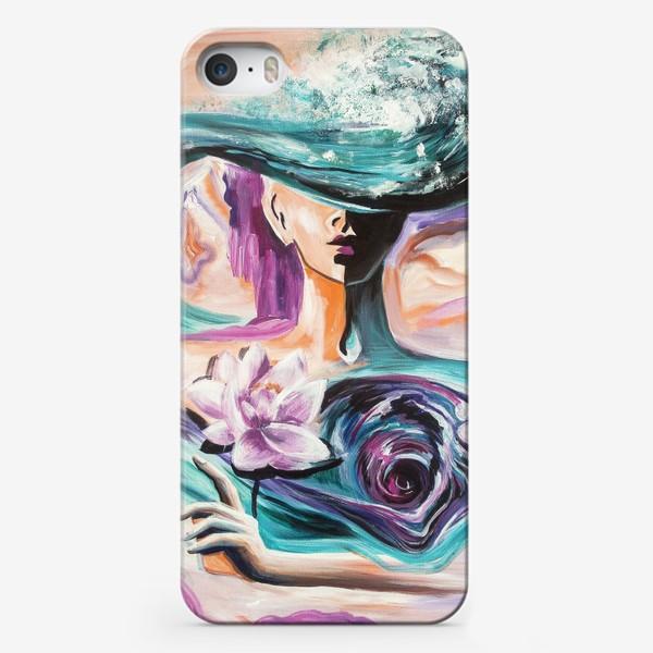 Чехол iPhone «Сердечный водоворот»