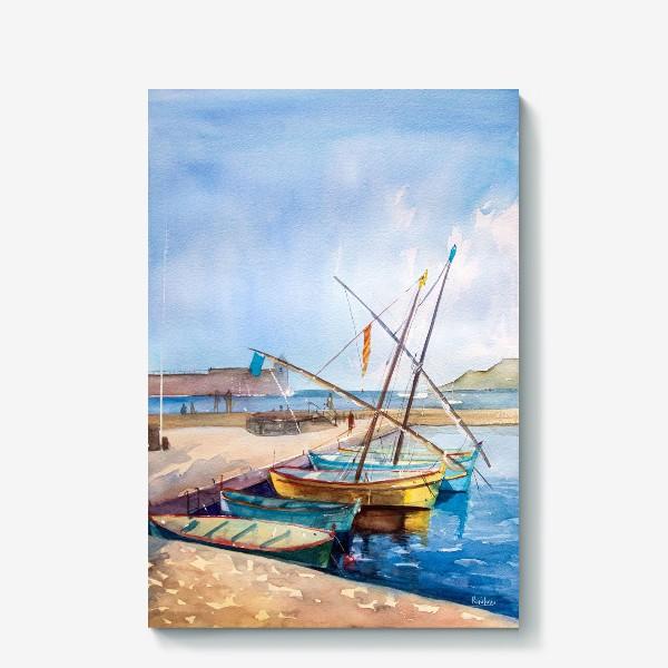 Холст «Яхты Франция»