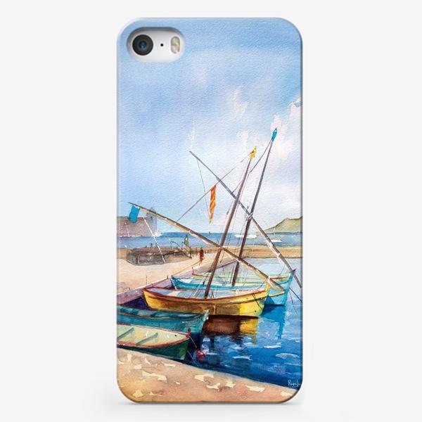 Чехол iPhone «Яхты Франция»