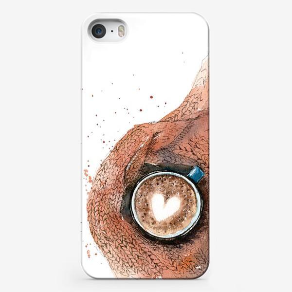 Чехол iPhone «Осенняя чашка»