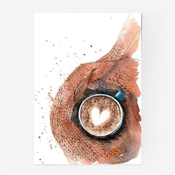 Постер «Осенняя чашка»
